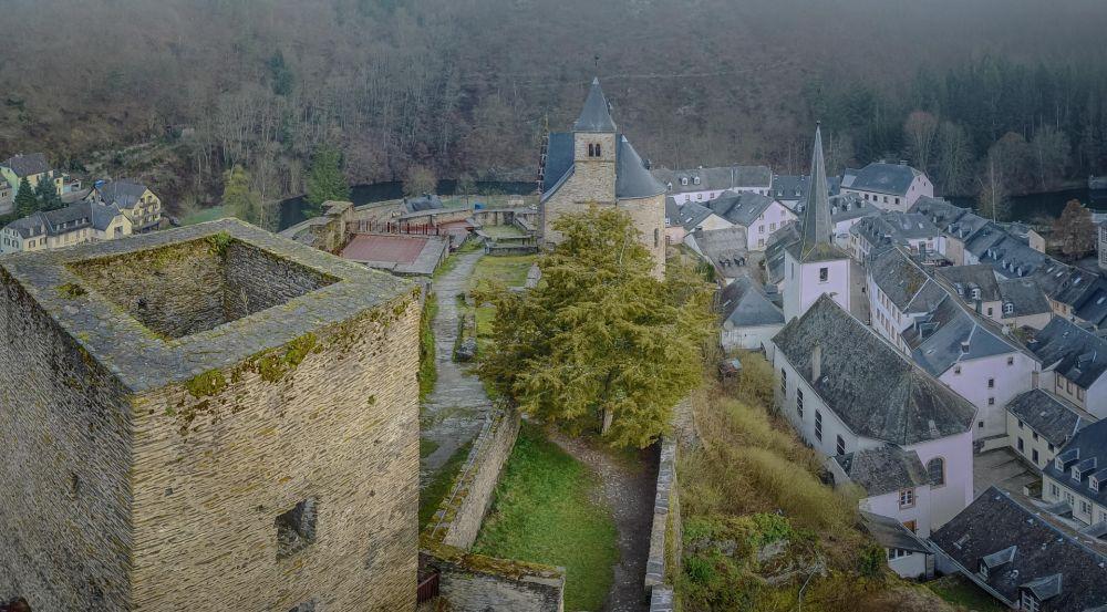 Castle in a small village