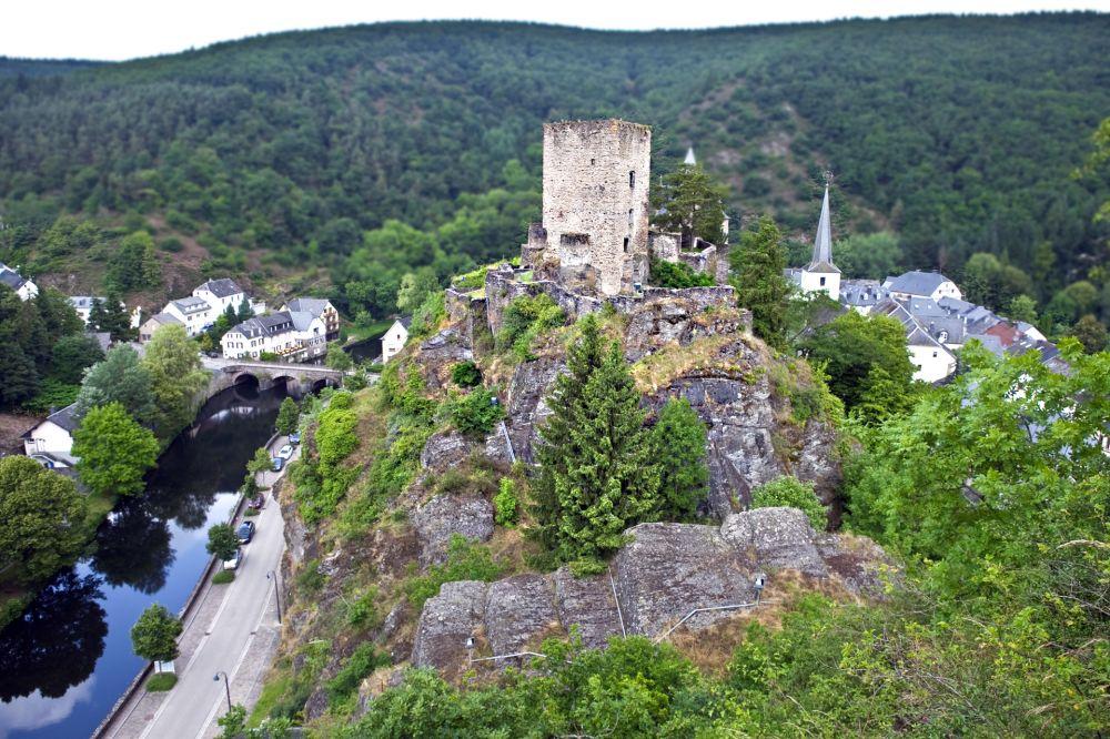 Middle age castle